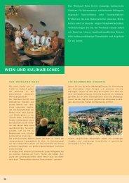 WEIN UND KULINARISCHES - Bad Sobernheim