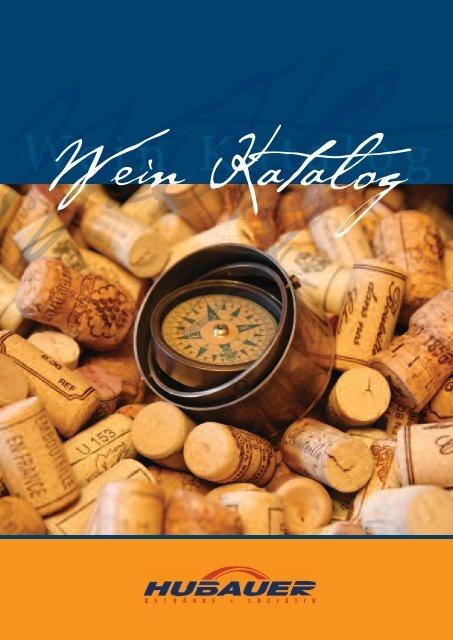 Wein Katalog - Hubauer Bautzen