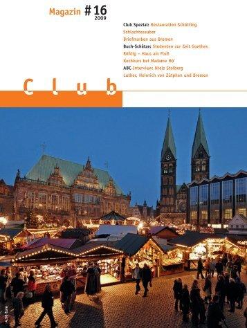 Magazin #16 - Der Club zu Bremen
