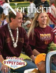 NORTHERN TODAY 1 - Northern State University