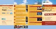 Programm Strohsemmelfest 2011