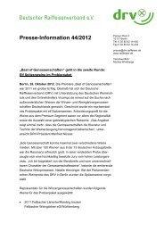 Presse-Information 44/2012 - Deutschen Winzergenossenschaften