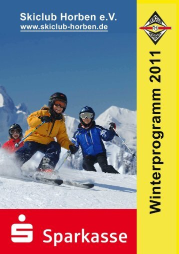 Winterprogramm 2011 - Skiclub Horben eV