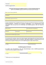 Einzugsermächtigung Kfz-Steuer - Erfurt