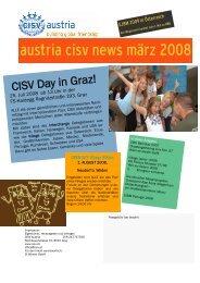 austria cisv news märz 2008
