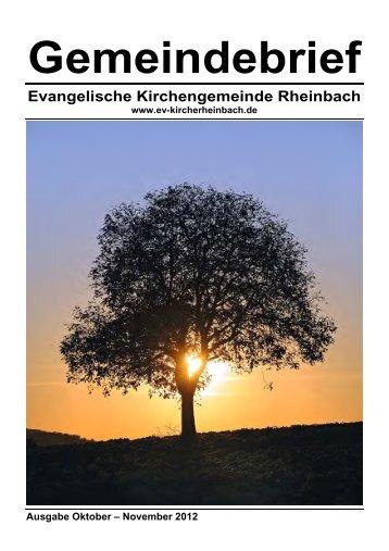 Info - Evangelische Gnadenkirche