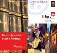 Programm: Luther. Der Aufbruch 2011 - Erfurt