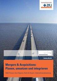 Mergers & Acquisitions - ZfU - International Business School