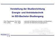 Elektrische Energie- und Antriebstechnik