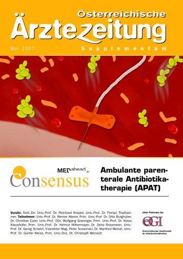 APAT - Österreichische Gesellschaft für Infektionskrankheiten