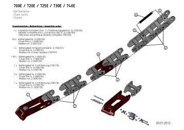 ErgoPack 700/700E/720E/730E