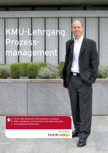 KMU-Lehrgang Prozess-Management.indd - Bank Coop
