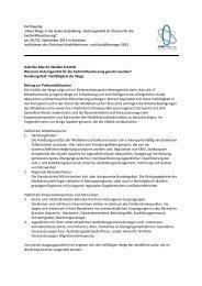 Handlungsfeld: Vielfältigkeit der Wege - BiBB