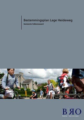 1. inleidende regels - Ruimtelijkeplannen gemeente Valkenswaard ...