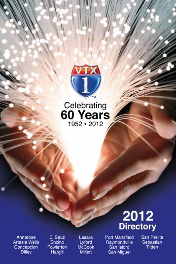 60 Years - Valley Telephone Cooperative