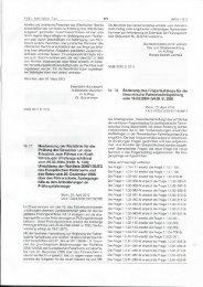 Nr.77 Neufassung der Richtlinie für die Prüfung der Bewerber um ...