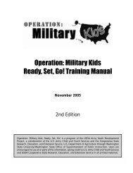 Operation: Military Kids Ready, Set, Go! - Florida 4-H
