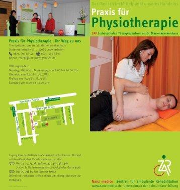 Praxis für Physiotherapie - ZAR Ludwigshafen Marienkrankenhaus