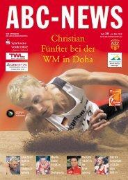Christian Fünfter bei der WM in Doha - ABC-Ludwigshafen eV