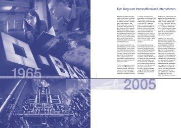 Der Weg zum transnationalen Unternehmen - BASF Hungária Kft.