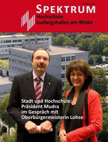 Stadt und Hochschule: Präsident Mudra im Gespräch mit ...