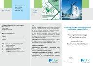 Flyer Medizinisches Versorgungszentrum am Klinikum Ludwigshafen