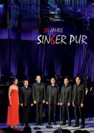Festschrift - Singer Pur