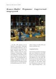Krauss-Maffei Wegmann - PSI Logistics GmbH