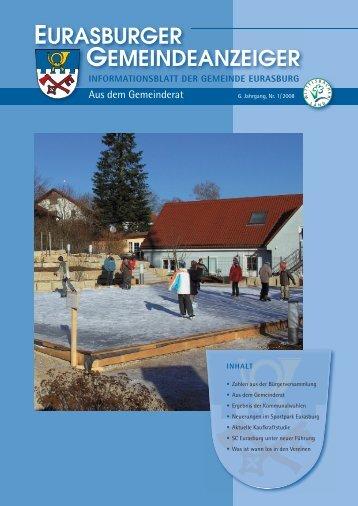 Gemeindeanzeiger 08-1.pdf - Gemeinde Eurasburg