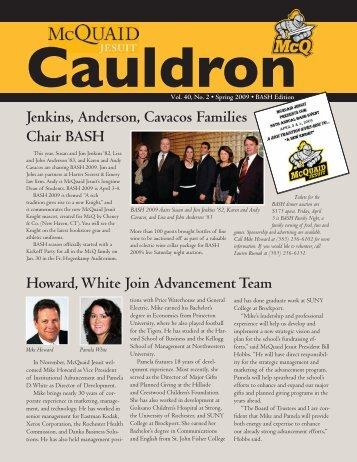 BASH 2009 Cauldron - McQuaid Jesuit High School