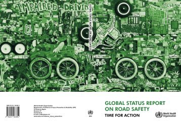 global status report on road safety - World Health Organization