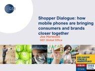 Shopper Dialogue: how mobile phones are ... - ECR Community