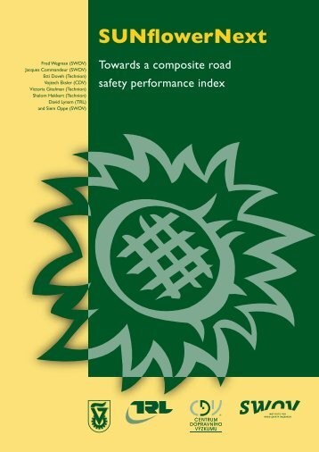 SUNflowerNext: Towards a composite road safety ... - SWOV