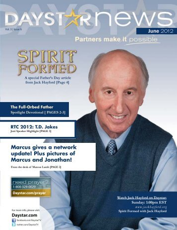 June 2012 Newsletter - Daystar