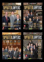Washington, DC's Top Rated Lawyers - Andrews Kurth LLP