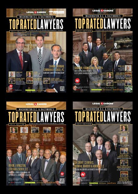 Washington Dcs Top Rated Lawyers Andrews Kurth Llp