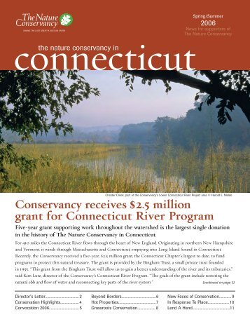 Conservancy receives $2.5 million grant for Connecticut River ...