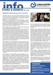 info - Lebenshilfe Pforzheim Enzkreis eV