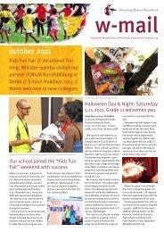 W-mail 10_2011 - Waldorf School Windhoek