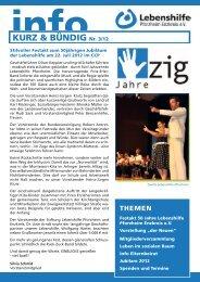 Ausgabe 3/12 als PDF - Lebenshilfe Pforzheim Enzkreis eV