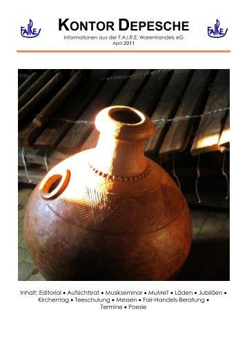 Ausgabe April 2011 - faire