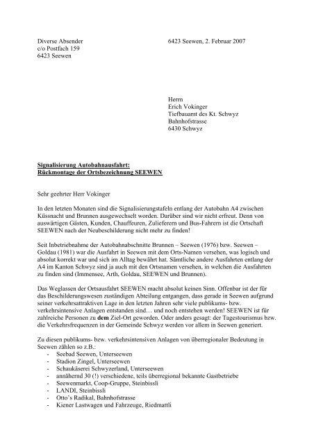Download Original-Brief an Erich Vokinger vom ... - Gasthaus Kreuz