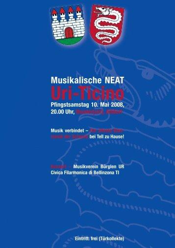 Musikalische NEAT Uri-Ticino - Civica filarmonica di Bellinzona