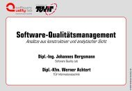 Dipl.-Ing. Johannes Bergsmann - Software Quality Lab