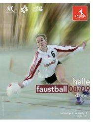 08/09 9 halle e - Swiss Faustball
