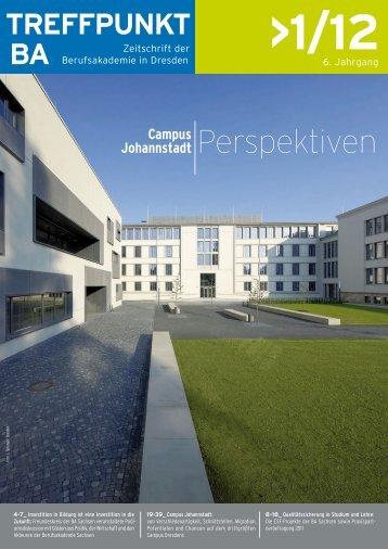 Leitthema: Campus Johannstadt und Perspektiven