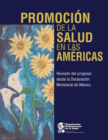 Promoción de la Salud en las Américas - Universidad Veracruzana