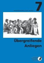 Lehrmittel Sporterziehung: Band 2 – Broschüre 7 - mobilesport.ch