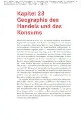 Kapitel 23 Geographie des Handels und des Konsums
