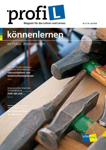 Ganzes Magazin als PDF herunterladen - profi-L, das Magazin für ...